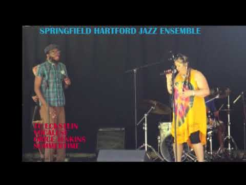 SUMMERTIME BY TC ECKSTEIN VOCALESE- ORICE JENKINS IN THE SPRINGFIELD HARTFORD JAZZ ENSEMBLE LIVE