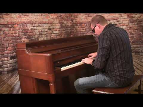 Lorina western saloon piano cover Andy Hensley