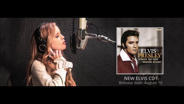 Elvis Cover with daughter Lisa by Anthony Flake