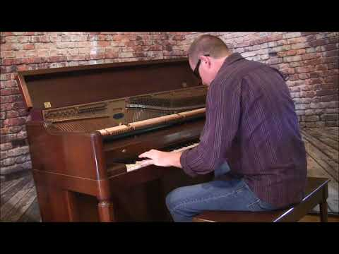 Blaze of Glory piano cover Andy Hensley