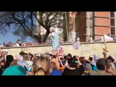 Procesión de la Virgen del Rosario se San Nicolás el 25 de septiembre  2017