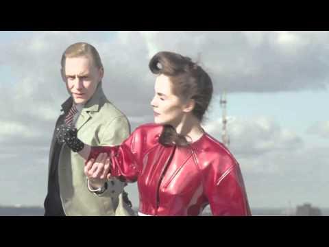 TIME Futuristic London Fashion : Michelle Dockery and Tom Hiddleston