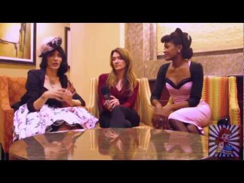 PinUp America's Angelique Noire interviews Laura Byrnes & Micheline Pitt of Pinupgirlclothing.com