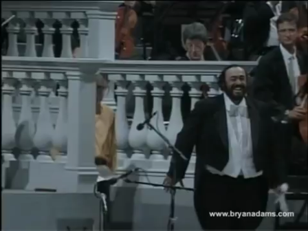 Bryan Adams and Luciano Pavarotti - O Sole Mio