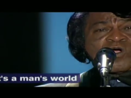 Luciano Pavarotti and James Brown  - It's a Man's World