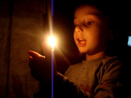 ლოცვა სანთლით