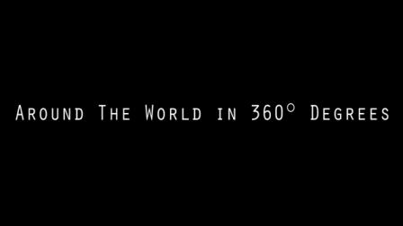 360 გრადუსით ბზრიალა კამერა და შემოვლილი დედამიწა