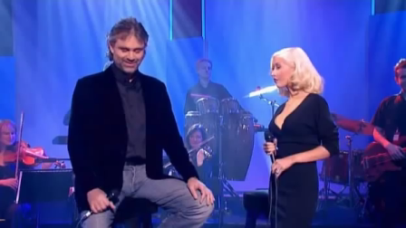 Christina Aguilera and Andrea Bocelli - Somos Novios