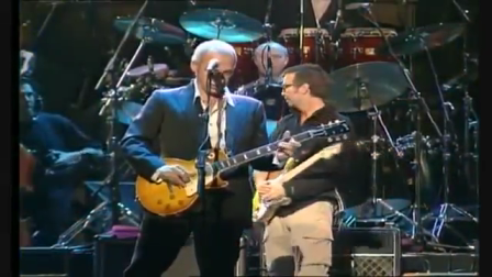 Mark Knopfler, Eric Clapton, Sting and Phil Collins - Money for Nothing