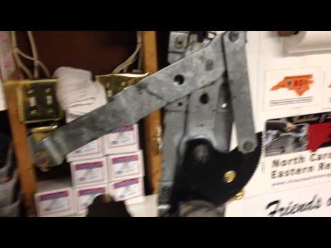 Testing a 1964 Cadillac Coupe DeVille Rear Qtr Window Regulator