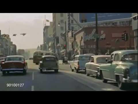 Hollywood Blvd 1957