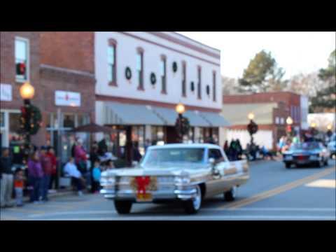 Garner Christmas Parade - 64 Cadillac- Dec 1, 2012
