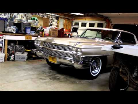 64 Coupe DeVille in Garage with No Exhaust - Oct 18, 2012