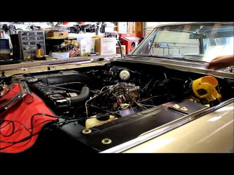 Jason's 1964 429 Cadillac Engine Project - Engine Fires Up!