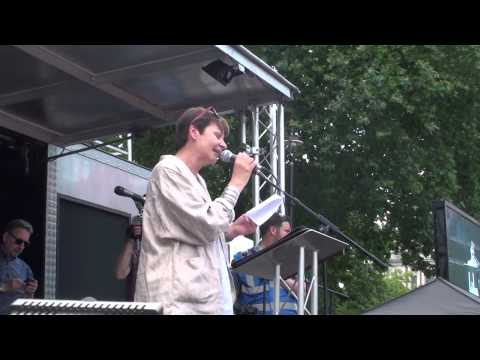 Caroline Lucas @ People's Assembly march