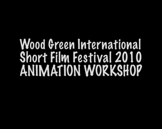 """Life in Wood Green"" Animation Workshop for Wood Green International Short Film Festival at Wood Green Central Library"