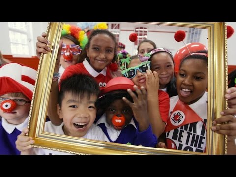 Red Nose Day 2015 Schools' Song - Making Funny Faces! [Official]