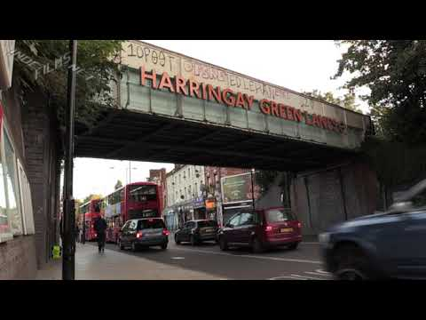 STOP KILLING LONDONERS: CUT AIR POLLUTION (GREEN LANES) 22/9/2017