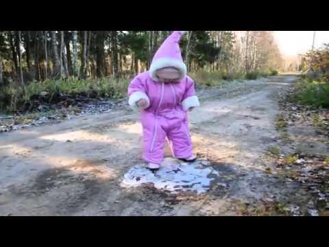 Kind steht das erste mal auf Eis :D (2013)