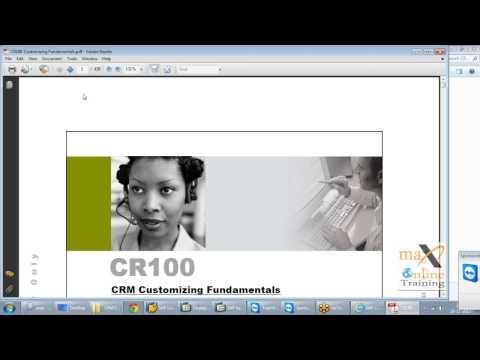 SAP CRM Online Training | Free Demo video Classes