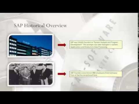 What is SAP: Beginner Online Training Course