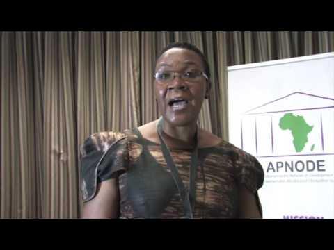 Parliamentarians for Evaluation - Hon. Evelyn Mpagi-Kaabule
