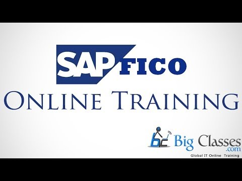 SAP FICO Online Training | Video Tutorial