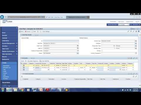 SAP CRM Training - SAP CRM Sales