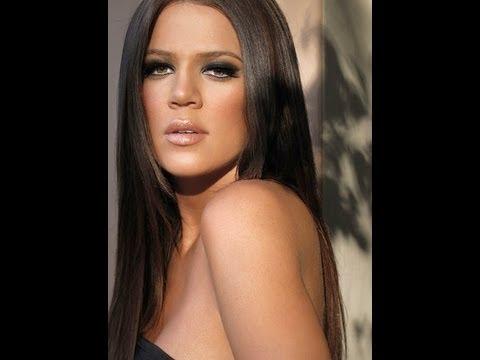 Khloe Kardashian Smokey Eye