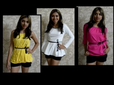 Clothes Haul Sammy Dress Review- Fashion,Video,Style Youtube Blog Hauls 2013 Reviews