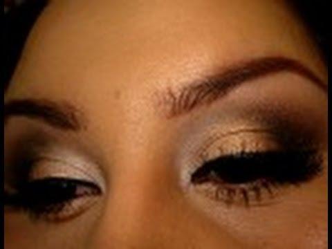 Neutral Smokey Eye for Work, School or Whenever
