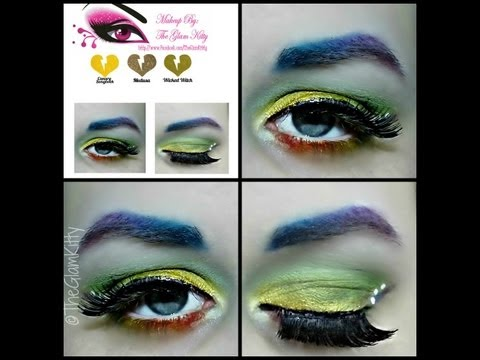 Colorful Birthday St.Patrick's Tutorial Featuring Sugarpill Cosmetics & Rockeresque Beauty Company