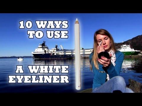 White Eyeliner! 10 Ways to use White Eyeliner! How to Brighten Your Eyes & Face with White Eyeliner!