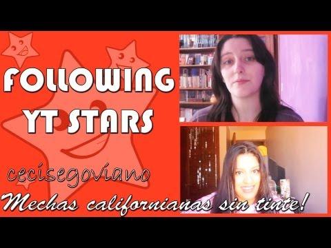 Natural Ombre hair/Mechas californianas sin tinte - Following Youtube Stars 1