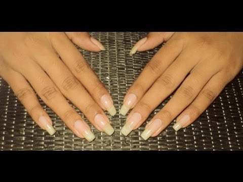 Tips For Healthy Natural Nails ( My Weekly Nail Care Routine )
