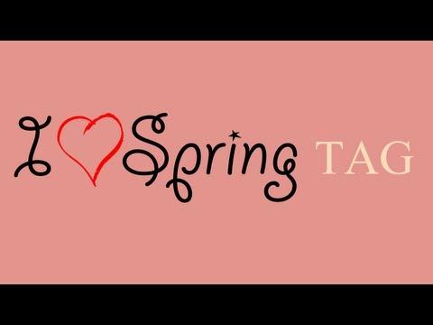 I ♥ Spring TAG