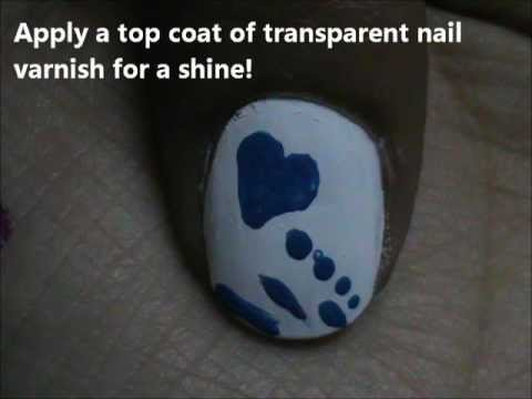 Drowning In Love !!  Easy Nail Design For Beginners- Easy Nail Design For Short Nails!