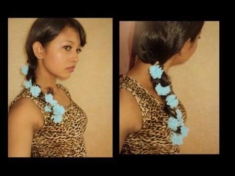 Regular Braiding With Beautiful Floral _ Bornpretty Store Review