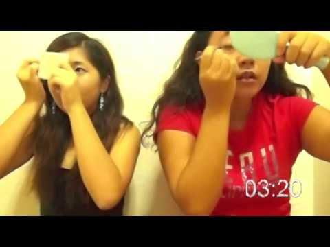 5 minute make up challenge