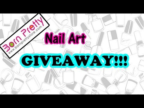 Nail Art GIVEAWAY sponsored by Bornprettystore | 6 winners (OPEN WORLDWIDE)