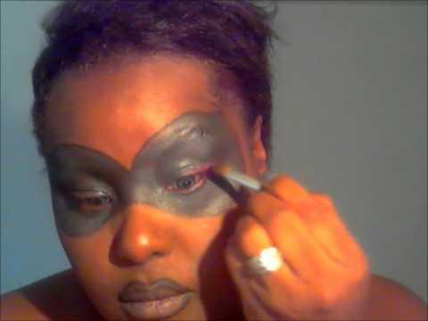 Black Masked Eyeshadow