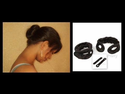 Easy Sleek Bun Hair Tutorial + Bornpretty Store Review