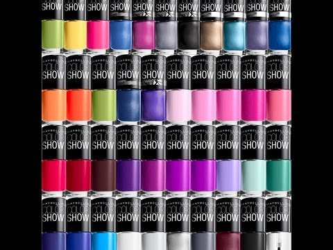 Maybelline Color Show Range Haul