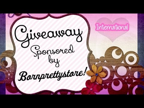 International Giveaway Sponsored by Bornprettystore (OPEN)