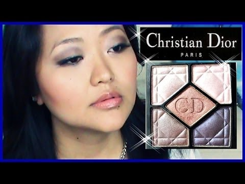 Dior Palette Review/Demo - A Day to Night Makeup Look!