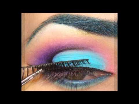 Exotic Sunshine Eye Makeup Tutorial