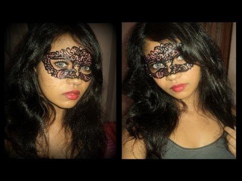 Lace Masquerade Masks DIY