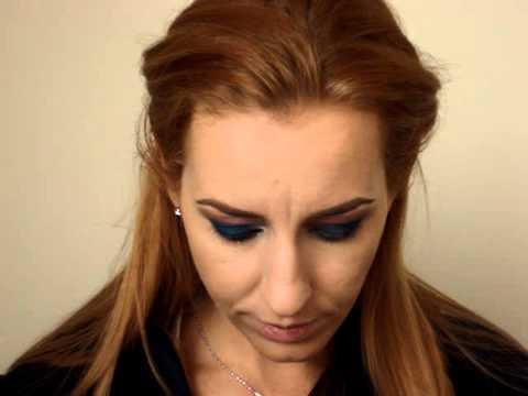 Blue Night Eyes Makeup Tutorial