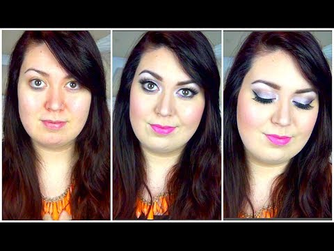 Get Ready With Me ♡ Lilac Eyes & Pink Lips