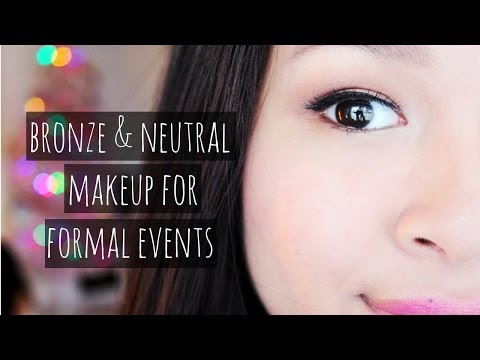 Neutral & Bronze ❄ Prom or Formal Event Makeup | Collab w/ TheFashionNMakeup